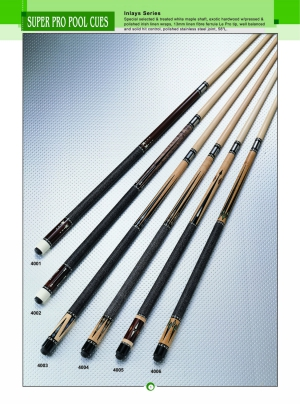 SUPER PRO POOL CUES