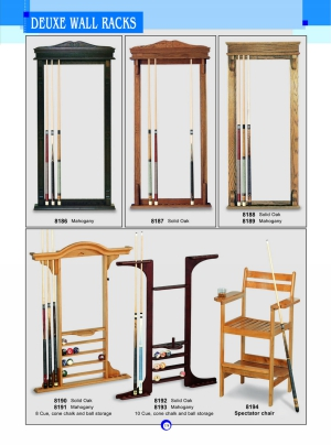 DEUXE WALL RACKS