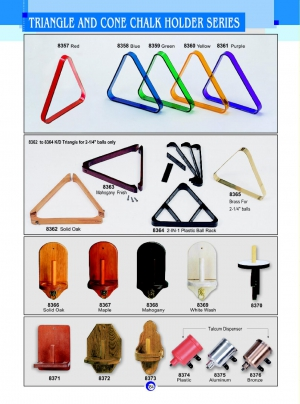 TRIANGLE AND CONE CHALK HOLDER SERIES