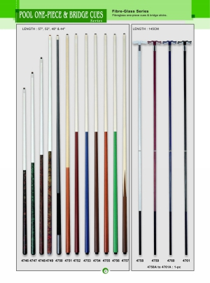 PRO ONE-PLECE & BRIDGE CUES
